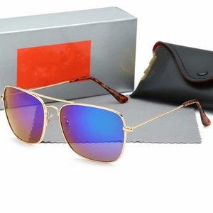 Unisex Vassl Gold Metal Frame Pilot Sunglasses Black Lens Vintage Eyewear Accessories Sun 3136 Glasses For Men Women 58mm come box
