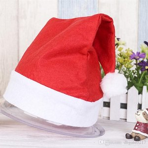 wholesale New Christmas Decoration hats High-grade Christmas hat Santa Claus hat Cute adults Christmas Cosplay Hats free shipping