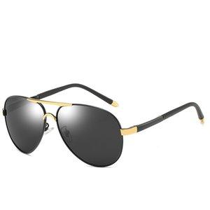 High-end dos homens polarizados óculos de sol retro dos homens polarizados óculos de sol dos homens óculos de sol ao ar livre high-end óculos de negócios óculos de motorista