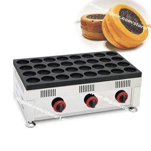 Бесплатная доставка 32-отверстие коммерческое использование антипригарным газа LPG японский бобовый жмых Obanyaki производитель красная фасоль колеса торт машина