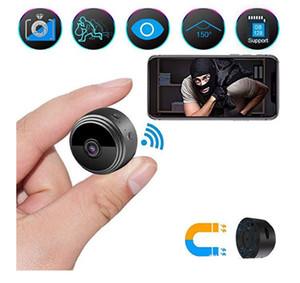 كاميرا A9 عالي الوضوح 1080p البسيطة واي فاي لاسلكي كاميرا الأشعة تحت الحمراء ليلة الصغيرة الرؤية الرياضة الخفية الحاضنة الأمن مغناطيس صغير DV DVR