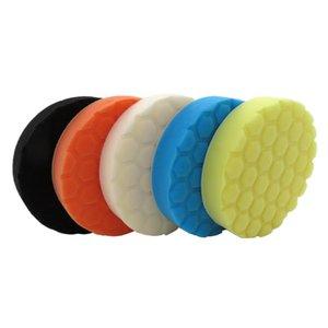 5pcs 6/7 Inch Encerando Polimento Sponge Pad Polishing Esfregar Ruber Esfregão Poder Scrub All Purpose para Repair Car Care Auto
