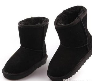 Hot Sale- sell Brand Children Shoes Girls Boots Winter Warm Ankle Toddler Boys Boots Shoes Kids Snow Boots Children's Plush Warm Shoe