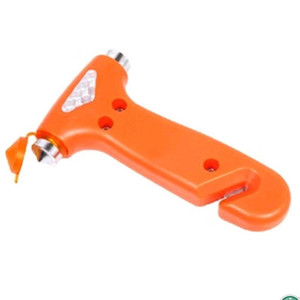 Martello di sicurezza Strumenti salvavita Outdoor Multi Function Two In Onewith Coltello da taglio Uso dei veicoli Vendita calda portatile 1 6ysf1