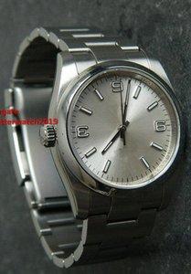 6 estilos Classic Limited Edition 36mm de alta calidad Reloj de pulsera mecánica de alta calidad 116000 Dial de índice Relojes mecánicos automáticos para hombres