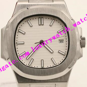 Multi-style Link Men Watch Factory Sales 40mm 5711 1A-011 Automatic Silver Gold Stainless Steel Bracelet Luxury Watch Free Shipping