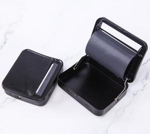 Новые Черный Rollbox Автоматическая Сигарета Роллинг машина 70MM DIY Roller Box идеальный способ прокатки высокого качества Курительные принадлежности DHL SN
