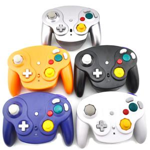2.4 기가 헤르츠 고출력 무선 컨트롤러 게임 게임 패드를 들어 게임 큐브 NGC 닌텐도 (어댑터의 Wii U 스위치) 다채로운 상자 6 색