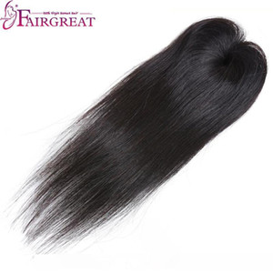 B Fairgreat Pre -Colored Remy Straight Hair 6 Bundles With Closure Human Hair Bundles With Lace Closure Virgin Brazilian Human Hair Ext