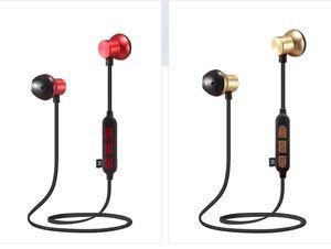 M12 الحصري عبر الحدود الرياضة اللاسلكية سماعة بلوتوث تشغيل المعادن بطاقة MP3 الموسيقى سماعات الرأس
