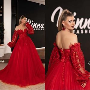 Glitter Red Prom Dress Long Sleeve Black Girl sweep treno africano Sweetheart formale vestido gli abiti di sera