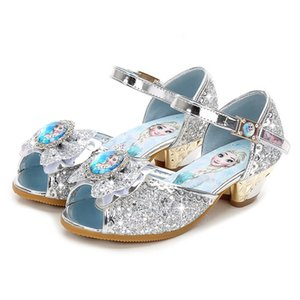 Children girls sandals summer shoes ,Else shoes for girls,Dancing and party shoe rhinestone bow else shoes EUR size 24-36 T200703