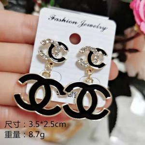 Luxus-Schmuck-Frauen Ohrringe einzige Perle Designer Ohrstecker hochwertiger High-End-Elagant runden Bolzen Mode-Stils