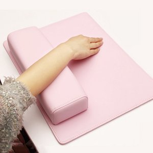 Professionale Nail Art Solon Cuscino Nail Pad Mat Nail Art Salon Manicure Practice Chiodi Cuscino Hand Holder 1 pz