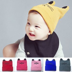 0-2t baby boy girl infant toddler cotton elastic spring autumn hat beanie cap fashion beautiful cute supplies