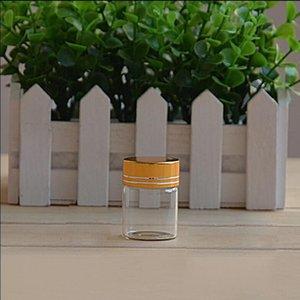 30pcs Moyen Transparent Bouteilles en verre bricolage Vials gros cruches vides de stockage Souhaitant bouteilles en verre décoratif cadeau Jars S028C