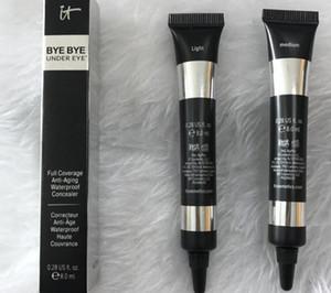 stock marque de maquillage cosmétiques il BYE BYE Sous l'oeil léger / moyen sous l'œil couverture complète apprêt imperméable fondation Correcteur