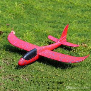 Jogue 48 centímetros Mão Rc Airplane Epp Foam Outdoor Lançamento Glider flexível Plane Toy Kids Fly Avião modelo de RC