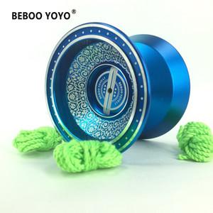 2017 Novo Metal Yoyo Professional Yoyo Set Yo yo T200116 Presente + Luva + 3 Cordas L1 Yoyo clássico de alta qualidade Brinquedos Diabolo presente