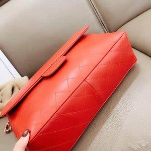 Vogue Fund aus echtem Leder Oblique Satchel Weibliches Baotou Schichtrind Ling Kette Single-Frauen-Schulter-Beutel-Qualitäts-Mode-Paket