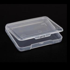 5PCS Collection Container à bijoux Finition Accessoires en plastique transparent Petite Effacer boîte magasin avec couvercle Boîte de rangement