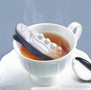 chá Titanic infusor saco de chá Alimentos grau silicone forma de navio chá coador criativa cozinha ferramenta Frete grátis