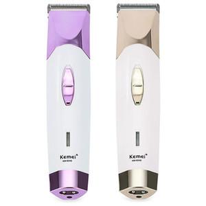 Kemei KM - 604B Saç Düzeltici Clipper Profesyonel Kuru Çift Kullanım 220 V Elektrikli Tıraş Kuaför Fader Erkekler Için Tarak Ile