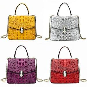 Vintage Denim Women Bag Designer Casual Jeans High Quality Big Crossbody Bag Large Crocodile Shoulder Bag Mochila Bolsa#159