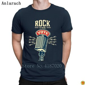 Rock The Vote 2012 Elections T Shirt Interesting Trend Spring The New T Shirt For Men Big Sizes Personality Clever Anlarach