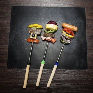 Bbq شواء Matter Reusable Non-Stick Bbq Cooking Mats Covers Sheet Foil Bbq Liner Tool 33 * 40Cm 0.2 Mm Thick
