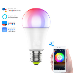 Smart Wi-Fi Led Light Bulb Compatible with Alexa, Google Assistant, 16 Million RGBCW Color Changing Dimmable Light Bulb