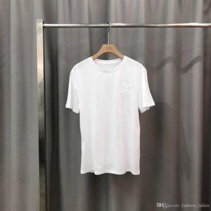 Brand Mens Designer T Shirt Black White Red Mens Fashion Cotton T Shirt High Quality Short Sleeve M-3XL F1