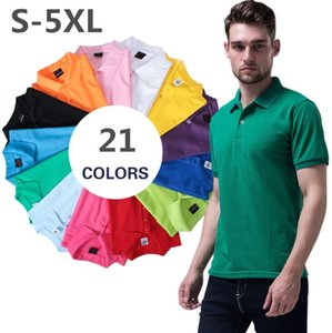 2020 Summer Embroidery Polo Shirt Men Short Sleeve Casual Men Shirts Slim Fit Polo Homme Cotton Mens jerseys Golf Tennis Polos