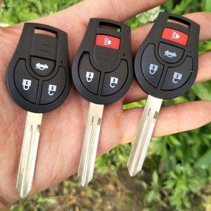 Botones 2/3/4 coche alejado de la cáscara de Nissan Juke de marzo Qashqai Sunny Sylphy Tiida X-Trail Cubo S SL Rogue