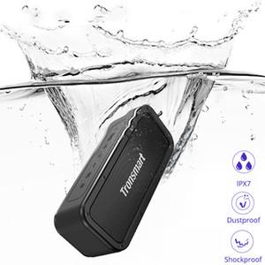 Fuerza Bluetooth Altavoz 40W Altavoz portátil a prueba de agua IPX7 15H Tiempo de juego con subwoofer, NFC, TWS, asistente de voz