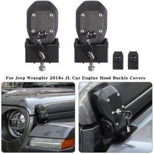 Capa Tranca Lingueta Trava Com Bloqueio Decoração Capa Para Jeep Wrangler JL 2018+ Auto Acessórios Interior