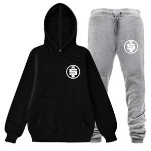 Nipsey Hussle Mens Designer Fatos Outono Inverno Dinheiro Ternos com capuz Hoodies Calças 2pcs ternos Esportes Pantalones