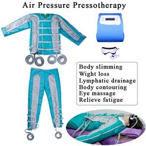 Presoterapia de infrarrojo lejano que adelgaza el cuerpo infrarrojo que forma el traje linfático masaje masaje pérdida de peso máquina de belleza