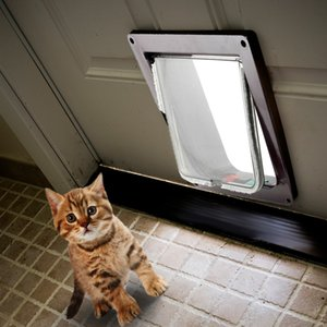 Kimpets Kilitlenebilir Köpek Kedi Pet Güvenlik Flap Kapılar Gates Rampaları Tüm Boyutu Için Evrensel