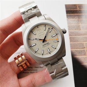 Hochwertiges Top-Luxus-Uhr-Männer automatisches mechanisches schwarz grün 40mm Art und Weise Geschäft wasserdichte Uhren Herren-freie Anlieferung Regarder