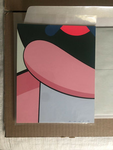 Kaws X MOCAD Alone Again 02 Home Decor Handpainted Oil Painting On Canvas Wall Art Canvas Pictures 200601