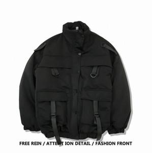 Женские куртки зимняя мода ремень украшены пальто бомбардировщики шикарные женские кожаные