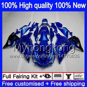 Injektion für KAWASAKI ZX14R 2012 2013 2014 2015 2016 2017 Gloss blau 25MY.15 ZZR1400 ZX 14R ZZR1400 ZX14R 12 13 14 15 16 17 OEM Verkleidungs