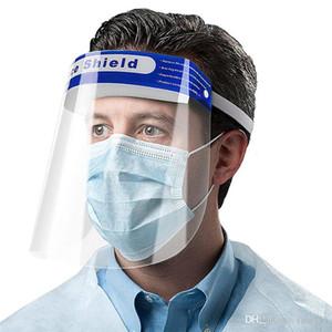 12 heures! Plein De Protection Visage Masque Casque bouche visage bouclier Housse De Protection Transparent Visage Yeux protecteur Masque de sécurité anti-poussière