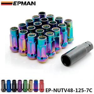 EPMAN MT V48 Auto Steel Acorn Rim Extended Open Close Racing Racing Racing Racing Racing с одним ключом M12X1.25 20 шт. EP-NutV48-125