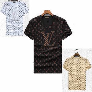 Оптовая Новые мужские футболки бренда Спорт Hip Hop Футболка с коротким рукавом Хлопок Hip Hop Дизайнер Mens женщин Medusa Повседневный T-Shirt