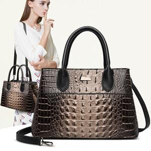 ABAY 2020 جلد الوطنية نمط حقيبة يد نمط تمساح يرتدي المحظية حقائب الموضة بولسا
