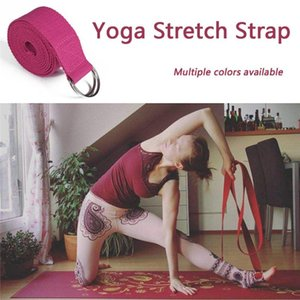 1x Yoga High Density Ribbon 320cm Yoga Stretch Strap D-ring Belt Stretching Band #2l04