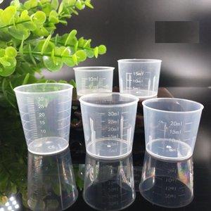 10 мл 15 мл 20 мл 30 мл мерный стаканчик многоразовые Transparent Весы Чашки DIY выпечки Мера Инструменты для кухни Бар Питание Принадлежности YDL015