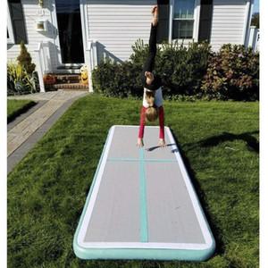 Grande sconto gonfiabile Gym Mat 300 * 100 * 10cm Air Track Mat pompa con aria DWF uso della casa Aria Piano Tumbling Mat PREZZI BASSI